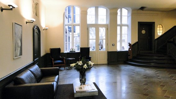Reception and entrance hall at Hotel Anno 1216