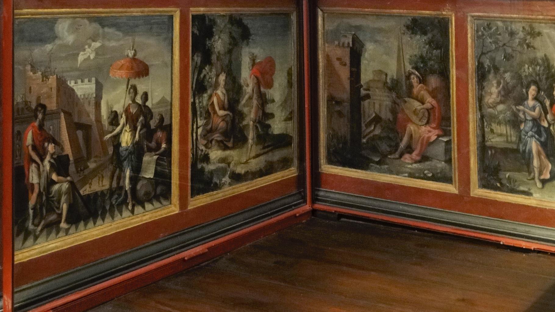 historical wall panel paintings - Ovid Lebenslauf
